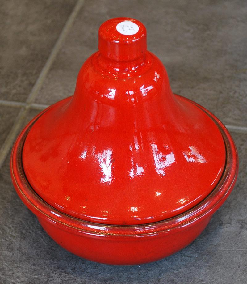 Small Tajine, Red