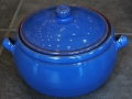 Pot with Lid Blue
