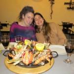 Hot seafood platter!