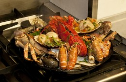 roasted shellfish
